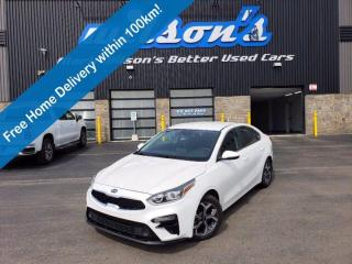 Used 2021 Kia Forte EX, Reverse Camera, Blindspot Monitor, Cruise Control, Heated Seats + Steering and Much More! for sale in Guelph, ON