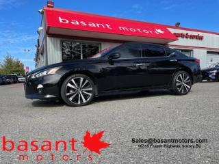 Used 2019 Nissan Altima Platinum, 360° Cam, Sunroof, Leather, Nav!! for sale in Surrey, BC