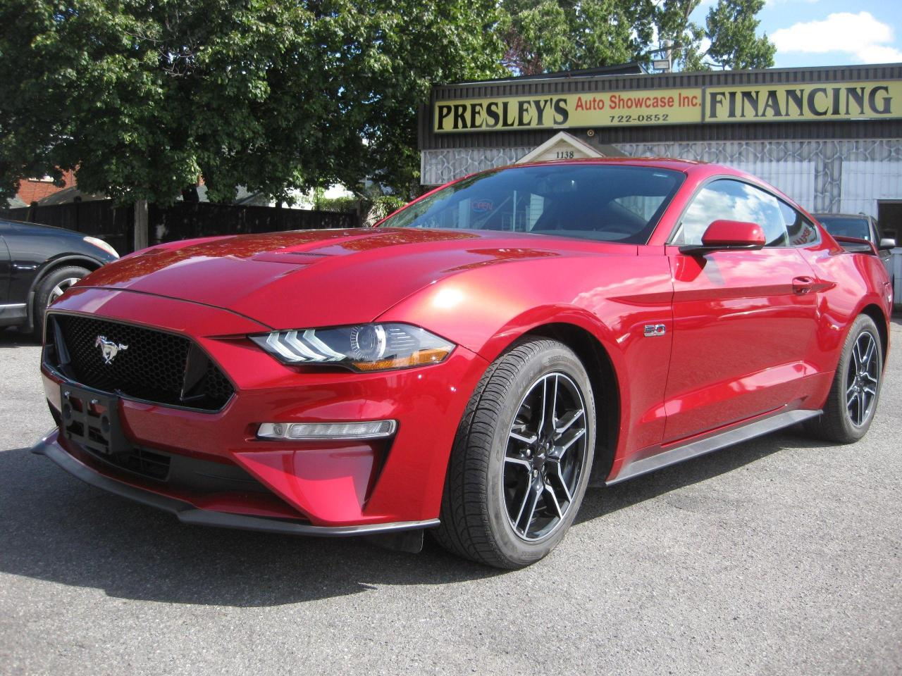 2020 Ford Mustang GT Coupe 5.0L 8cyl Manual RWD