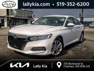 Used 2020 Honda Accord LX 1.5T LX #Bluetooth #Htd Seats #One owner for sale in Chatham, ON