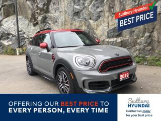 Used 2019 MINI Cooper Countryman John Cooper Works One owner no accidents! for sale in Sudbury, ON