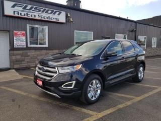 Used 2016 Ford Edge SEL-LEATHER-SUNROOF-NAVIGATION-REAR CAMERA for sale in Tilbury, ON