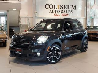 Used 2016 MINI Cooper Countryman ALL4-S-AWD-JOHN COOPER WORKS-PAN ROOF-LEATHER-48KM for sale in Toronto, ON