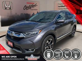 Used 2019 Honda CR-V Touring for sale in Owen Sound, ON