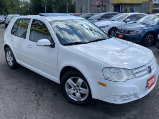 Used 2008 Volkswagen City Golf AUTO/SUNROOF/LOADED/ALLOYS for sale in Scarborough, ON