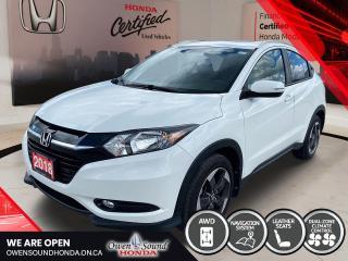 Used 2018 Honda HR-V EX-L NAVI for sale in Owen Sound, ON