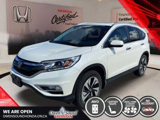 Used 2016 Honda CR-V Touring for sale in Owen Sound, ON