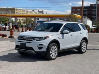 Used 2016 Land Rover Discovery Sport HSE LUXURY NAVIGATION/PANO ROOF/CAMERA for sale in North York, ON