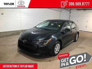 New 2022 Toyota Corolla L for sale in Regina, SK
