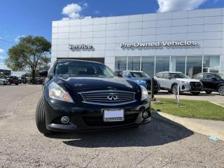 Used 2012 Infiniti G37 X Luxury ONE OWNER WELL MAINTAINED TRADE. CLEAN CARFAX WITH SNOW TIRES  AND ALL SEASONS. for sale in Toronto, ON