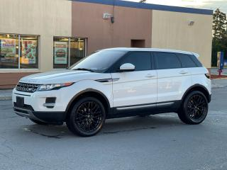 Used 2015 Land Rover Range Rover Evoque Pure CAMERA/PANOROOF/MERIDIAN SOUND for sale in North York, ON