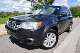 Used 2012 Subaru Forester RARE / 1 OWNER / MANUAL / TOURING PACKAGE / LOCAL for sale in Etobicoke, ON