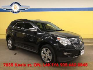 Used 2011 Chevrolet Equinox LTZ AWD, Navi, Leather, Roof, 2 Years Warranty for sale in Vaughan, ON