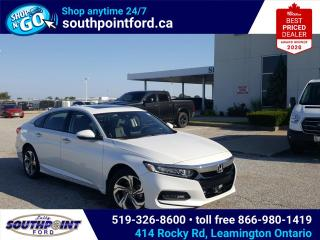 Used 2020 Honda Accord EX-L 1.5T EX|HTD SEATS|SUNROOF|ADAPTIVE CRUISE|REMOTE START|LANE KEEPING for sale in Leamington, ON