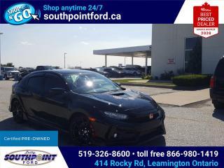 Used 2020 Honda Civic Type R MANUAL|NAV|ADAPTIVE CRUISE|LANE KEEP ASSIST for sale in Leamington, ON