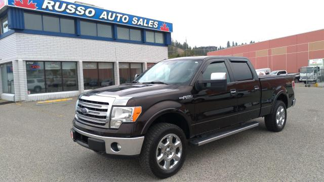 2013 Ford F-150 Lariat, 4x4, Leather, 6ft 6in Box