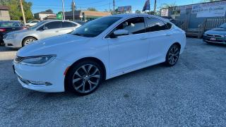 Used 2015 Chrysler 200 C ,certified for sale in Scarborough, ON