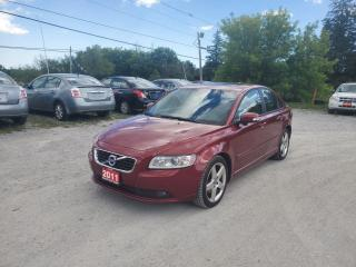 Used 2011 Volvo S40 T5 LEATHER SUNROOF CERTIFIED LOW KMS for sale in Stouffville, ON