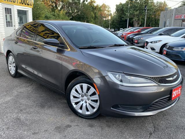2015 Chrysler 200 LX/PUSH START/LOADED/CLEAN CAR FAX