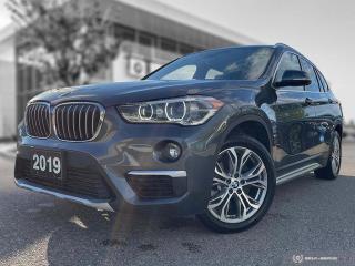 Used 2019 BMW X1 xDrive28i Sunroof! Back Up Cam! Nav! Kick Trunk! for sale in Winnipeg, MB