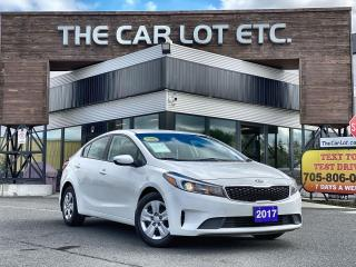 Used 2017 Kia Forte LX Previous Daily Rental- BLUETOOTH!! for sale in Sudbury, ON