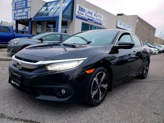 Used 2018 Honda Civic Touring TOURING|LEATHER|SUNROOF|CERTIFIED for sale in Concord, ON