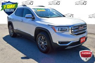 Used 2018 GMC Acadia SLT-1 V-6 AWD SUPER CLEAN for sale in Grimsby, ON