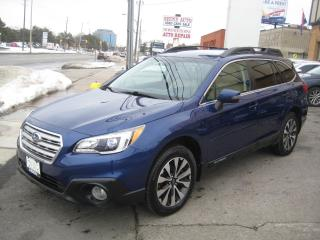 Used 2016 Subaru Outback 4dr Wgn 2.5i Limited/Nav/Leather/EyeSight/1owner for sale in North York, ON