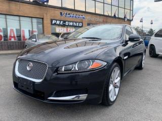 Used 2015 Jaguar XF 4dr Sdn V6 Sport AWD / NAVIGATION / POWER SUNROOF for sale in North York, ON