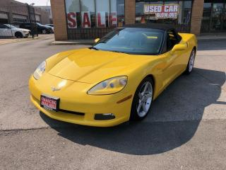 Used 2006 Chevrolet Corvette 2dr Convertible-HEADS UP 3LT Z51 for sale in North York, ON