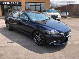 Used 2016 Mazda MAZDA6 4dr Sdn 2.5L Auto GT-HEADS UP DISPLAY-NAVI for sale in North York, ON
