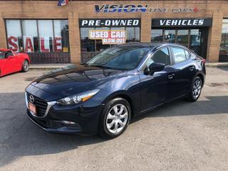 Used 2018 Mazda MAZDA3 GX Auto-NAVI-BACK UP CAMERA for sale in North York, ON