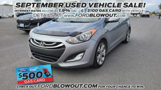 Used 2013 Hyundai Elantra GT GT - HEATED SEATS, AIR CON, CRUISE CONTROL for sale in Kingston, ON