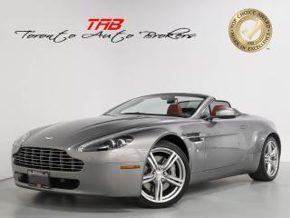 Used 2010 Aston Martin V8 Vantage V8 I 6-SPEED I NAVI I CONVERTIBLE I 20 IN WHEELS for sale in Vaughan, ON