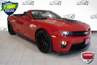 Used 2015 Chevrolet Camaro ZL1!!!  6.2L V8 SUPERCHARGED LSA!!!  6 SPEED MANUAL!!! for sale in Barrie, ON