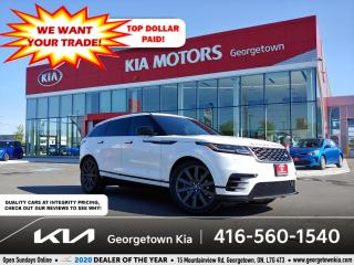 Used 2020 Land Rover Range Rover Velar P340 R-Dynamic S| 36K| CLEAN CARFX| PANO ROOF| NAV for sale in Georgetown, ON