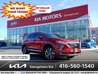 Used 2019 Hyundai Santa Fe PREFERRED | B/U CAM | HTD SEATS | 15 K | B/T | for sale in Georgetown, ON