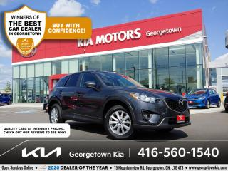 Used 2014 Mazda CX-5 GS | 1 OWNR | SUNROOF | BU CAM | HTD SEATS | B/T for sale in Georgetown, ON