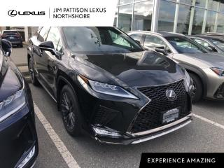 New 2021 Lexus RX 350 F Sport Series 3 for sale in North Vancouver, BC