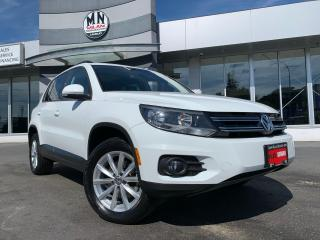 Used 2017 Volkswagen Tiguan Wolfsburg Edition AWD LEATHER SUNROOF CAMERA for sale in Langley, BC