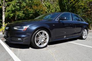 Used 2014 Audi A4 2.0T Progressiv Quattro S Line for sale in Vancouver, BC