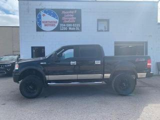 Used 2006 Ford F-150 supercrew 4wd FX4 for sale in Winnipeg, MB