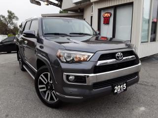 Used 2015 Toyota 4Runner SR5 LIMITED 4WD - 7 PASS! NAV! BACK-UP CAM! for sale in Kitchener, ON