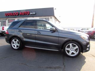 Used 2015 Mercedes-Benz ML-Class ML350 BlueTEC Diesel AMG Pkg AWD Navi Camera Certified for sale in Milton, ON
