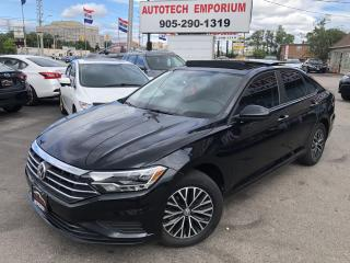 Used 2019 Volkswagen Jetta Highline Low KM/Leather/Sunroof/Navi/Carplay for sale in Mississauga, ON
