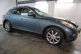 Used 2008 Infiniti EX 35 AWD JOURNEY NAVI 360 CAMERA CERTIFIED 2YR WARRANTY *1 OWNER*FREE ACCIDENT* HEATED LEATHER SUNROOF BLUETOOTH for sale in Milton, ON