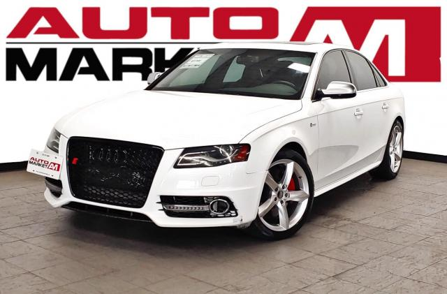 2011 Audi S4 Certified!AWD!Leather!WeApproveAllCredit!
