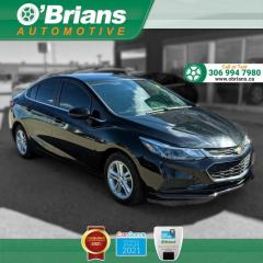 Used 2018 Chevrolet Cruze LT - Accident Free! w/Command Start, Backup Camera, Heated Seats for sale in Saskatoon, SK