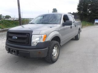 Used 2014 Ford F-150 XL SuperCrew 6.5-ft. Bed 4WD with bed slide for sale in Burnaby, BC
