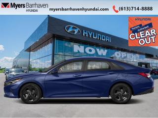 New 2022 Hyundai Elantra Preferred w/Sun and Tech  - $150 B/W for sale in Nepean, ON